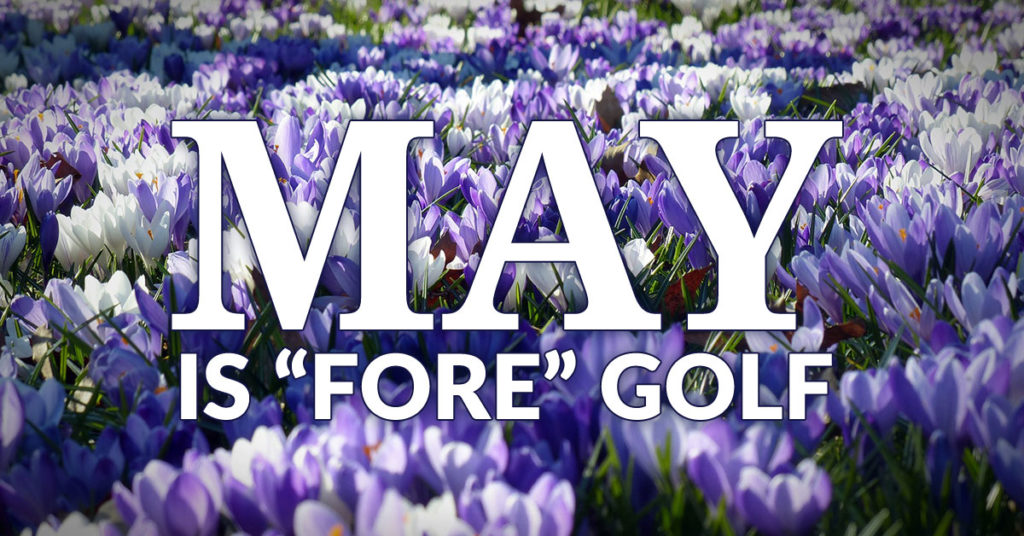 May is Fore Golf Package